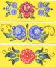 городецкая роспись шаблоны для детей.