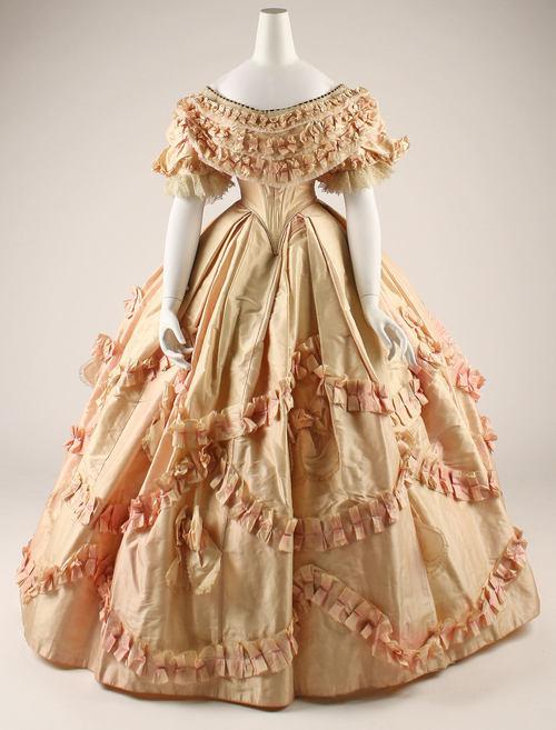 Бальные платья в 19 веке в россии